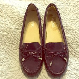 Michael Kors purple shoes size 7 Daisy Mocs